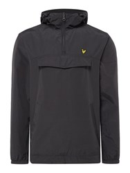 Lyle And Scott Men's Pull Over Anorak Black