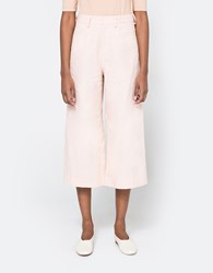 Farrow Wide Leg Pant In Baby Pink