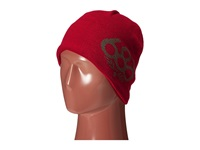 686 Wreath Fleece Beanie Cardinal Knit Hats Red