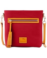 Dooney And Bourke Patterson Small Crossbody Wine