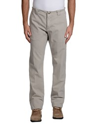 Carlo Chionna Trousers Casual Trousers Men Grey