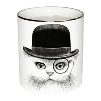 Rory Dobner Cutesy Candle Cat In Hat