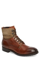 To Boot New York Abbott Tall Plain Toe Cognac Leather