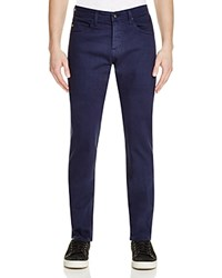 Ag Jeans Matchbox Slim Fit Jeans In Bleached Sand 100 Bloomingdale's Exclusive Navy