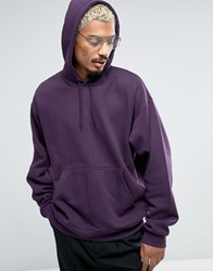 Weekday Big Hawk Hoodie 66 210 Purple