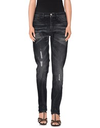 Gucci Denim Denim Trousers Women Steel Grey