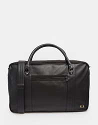 Fred Perry Scotch Grain Holdall Black
