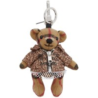Burberry Beige Vintage Check Thomas Bambi Keychain