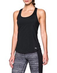 Under Armour Fly By 2.0 Cutout Racerback Tank Top Black