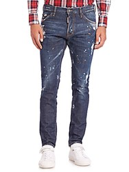 Viktor And Rolf Cool Guy Washed Jeans Blue