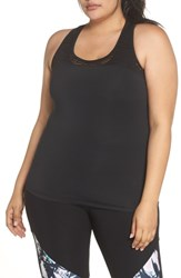 Marika Plus Size Curves Breeze Tank Black