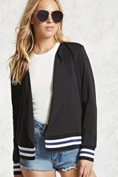 Forever 21 Varsity Striped Blazer