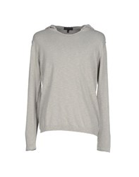 Andrea Morando Knitwear Jumpers Men Light Grey