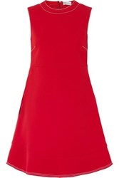 Red Valentino Redvalentino Cutout Bow Detailed Crepe Mini Dress It48