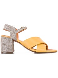 Chie Mihara Okay Sandals Yellow Orange