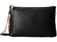Michael Michael Kors Jet Set Chain Item Top Zip Messenger Black Messenger Bags