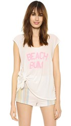Wildfox Couture Beach Bum Tulum Tunic Vintage Lace