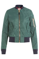Schott Nyc Flight Jacket Green