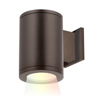 W.A.C. Lighting Tube Architectural Color Changing Wall Light Brown