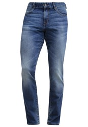 Boss Orange Barcelona Slim Fit Jeans Bright Blue Light Blue Denim