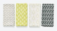 Areaware Bitmap Napkins Set Of 4 Various