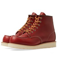Red Wing Shoes 8131 Heritage Work 6 Moc Toe Boot Brown