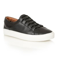 Frank Wright Mitch Lace Up Casual Trainers Black