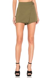 Bishop Young Buckle Skort Green