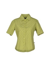 Stussy Shirts Acid Green