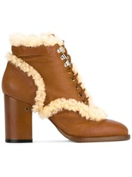 Laurence Dacade 'Manushka' Ankle Boots Brown