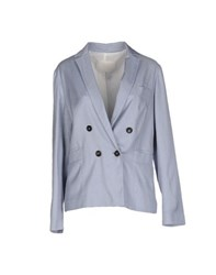 Tela Suits And Jackets Blazers Women Sky Blue