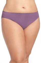 Nordstrom Plus Size Women's Lingerie Seamless High Cut Briefs Purple Haze