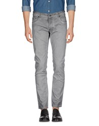Solid Casual Pants Grey