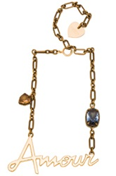 Lanvin Amour Necklace In Metallics