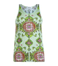Givenchy Aztec Print Vest Top Male