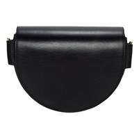 Liebeskind Berlin D Bag Leather Saddle Bag Black