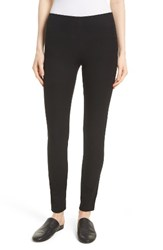 Joseph Women's Stretch Gabardine Straight Leggings Black