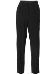 Agnona Slit Detail Trousers Black