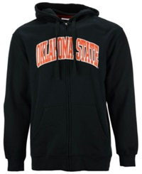 Knights Apparel Men's Oklahoma State Cowboys Arch Full Zip Hoodie