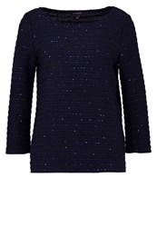 Banana Republic Jumper Preppy Navy Dark Blue