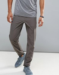 Perry Ellis 360 Sports Jogger Distance Stripe Waist In Dark Gray Gray