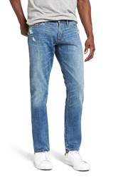 Jean Shop Men's Big And Tall Jim Slim Fit Selvedge Jeans Park Slope