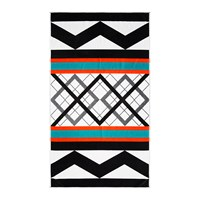A By Amara Geo Stripe Beach Towel