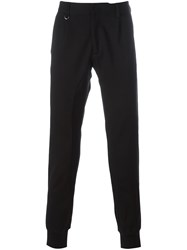 Paolo Pecora Gathered Ankle Trousers Black