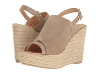 Cordani Entice Bark Suede Women's Wedge Shoes Brown