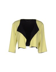 D.Exterior Knitwear Wrap Cardigans Women Yellow