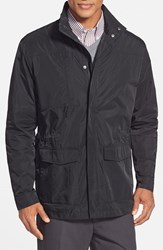 Men's Cutter And Buck 'Birch Bay' Weathertec Water Resistant Field Jacket Black