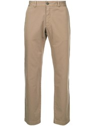 Sunspel Classic Chinos Cotton Brown