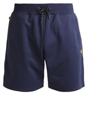 Lyle And Scott Mears Sports Shorts Navy Blue