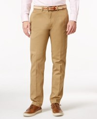 Kenneth Cole Reaction Men's Slim Fit Sustainable Stretch Chino Pants Camel